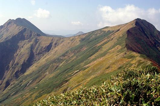 山の写真集(谷川連峰主脈縦走 -1-)